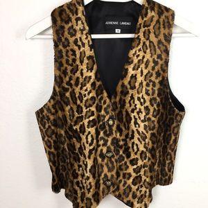 Leopard Print Vest Bohemian Western Vibes